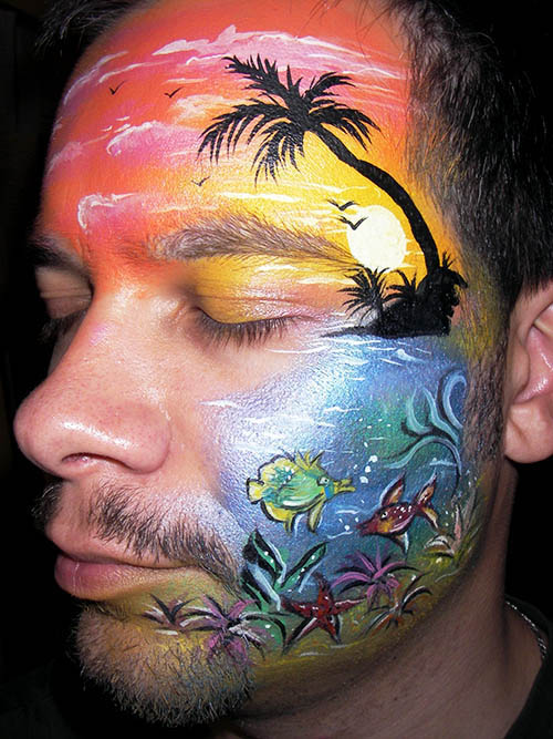 Happyfaces Luxembourg - Gallery: Face Painting for Adults